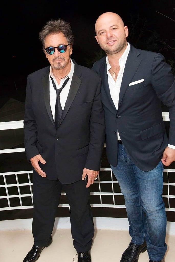Antonio De Martino a Venezia in compagnia di Al Pacino