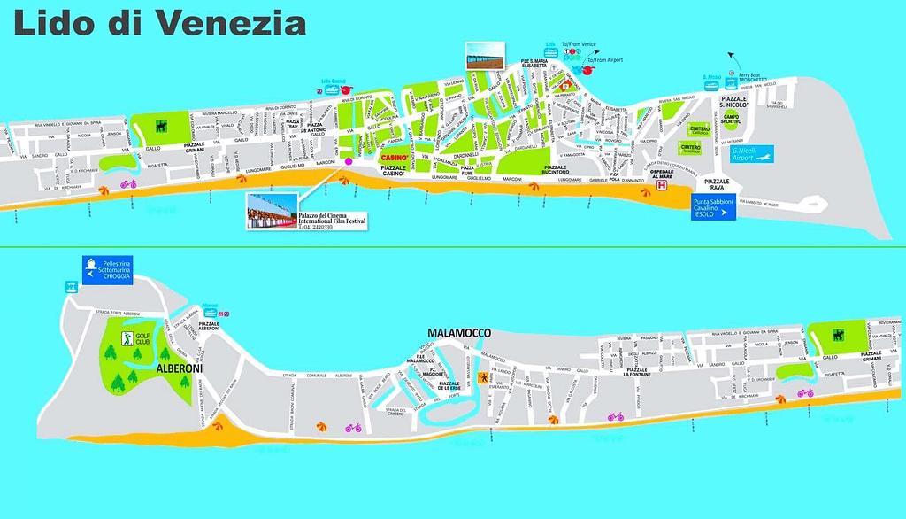 come comprare casa al lido di venezia mappa per zona